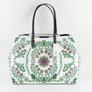 Tory Burch Kerrington Square Tote Garden Party